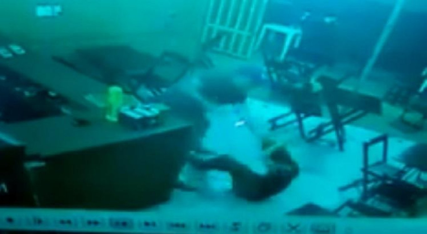 PM é filmado agredindo funcionária de lanchonete após receber pedido frio