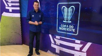 'O Maior Gol do Mundo', Aroldo Costa, é o narrados da TV Jornal na Copa do Nordeste