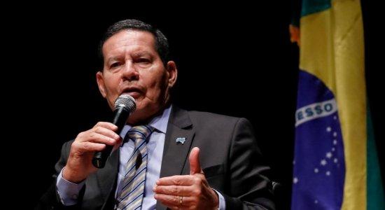 'Amazônia brasileira está segura', diz Mourão