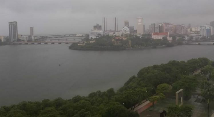APAC emite alerta de chuvas fortes no Grande Recife e Zona da Mata