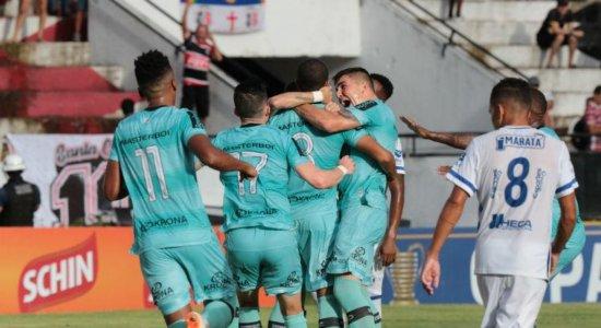 Santa Cruz vence e enfrenta o CRB na próxima fase da Copa do Nordeste