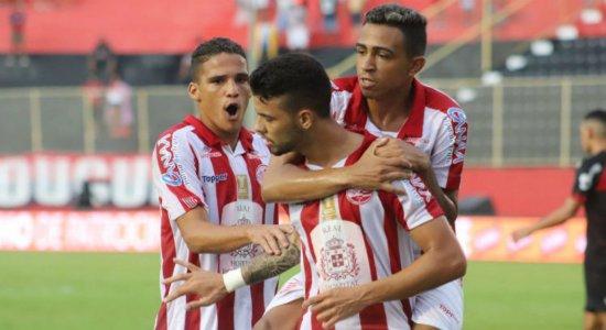 Náutico empata no Barradão e avança de fase na Copa do Nordeste