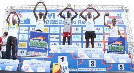 Quenianos vencem a 16ª edição da Corrida das Pontes do Recife