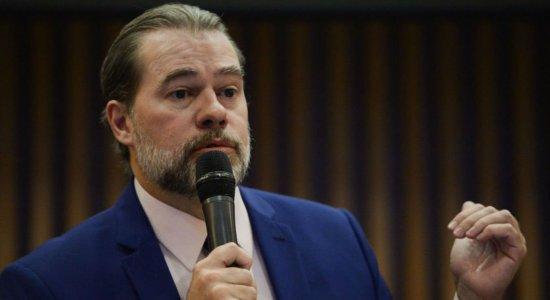 Toffoli adia julgamento de ações sobre prisão após segunda instância
