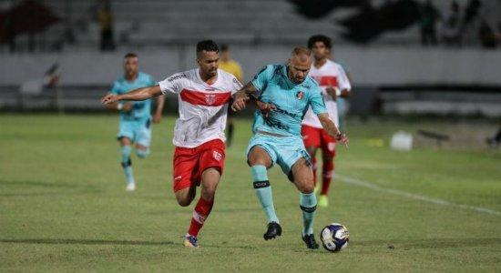 Santa Cruz enfrenta o Fortaleza na semifinal da Copa do Nordeste