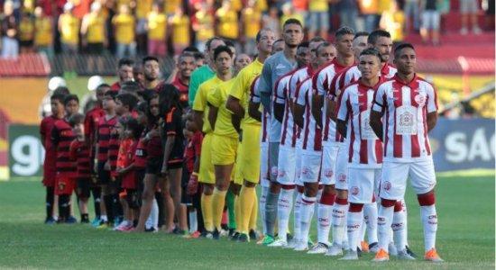 Ricardo Marques Ribeiro apita a final do Campeonato Pernambucano