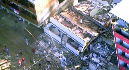 Justiça proíbe construções e obras no condomínio que desabou no Rio