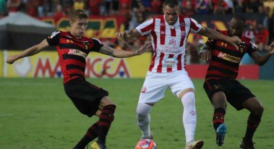 Ouça o gol que decidiu a primeira partida da final do Campeonato Pernambucano