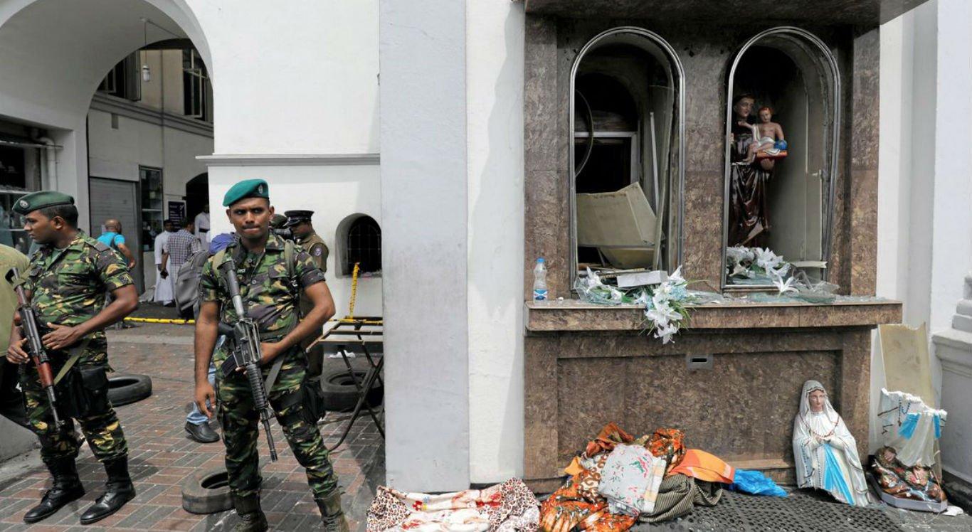 Ataques simultâneos deixam mortos e feridos em igrejas e hotéis no Sri Lanka