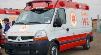 Serviço de Atendimento Móvel de Urgência (Samu) atendeu a criança
