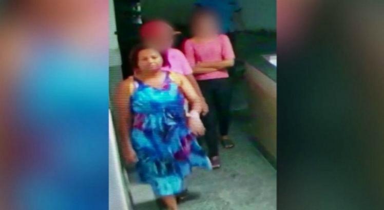 A polícia chegou à suspeita após receber uma denúncia de uma pessoa que viu imagens de Eliane em um site
