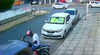 Suspeito de matar vigilante chegou de motocicleta