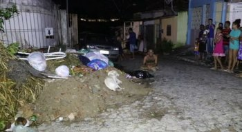 Branquinho, um cão de 2 anos, foi eletrocutado