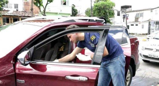 Encontrado dono de carro usado em ação contra empresário