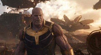 Thanos é o grande vilão do filme Vingadores