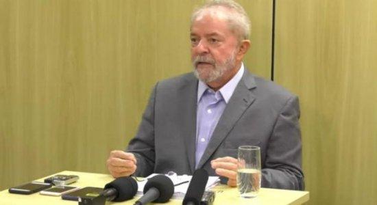 ''Não trocarei minha dignidade pela minha liberdade'', diz Lula
