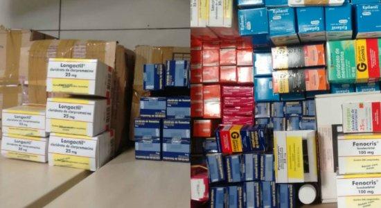 PF encontra remédio controlado acondicionado no banheiro da secretária de Saúde de Agrestina