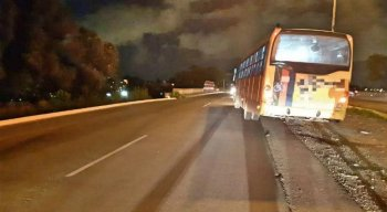 O atropelamento aconteceu após o motorista pegar a contramão
