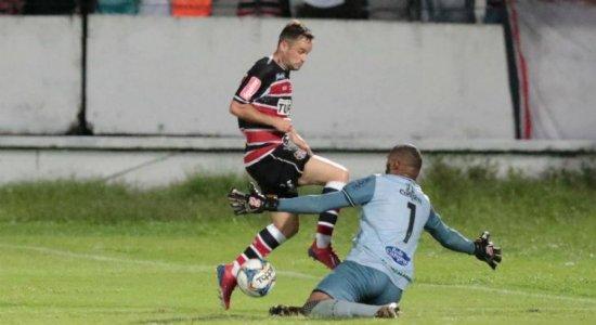 Santa Cruz arranca empate no último minuto contra o Treze-PB