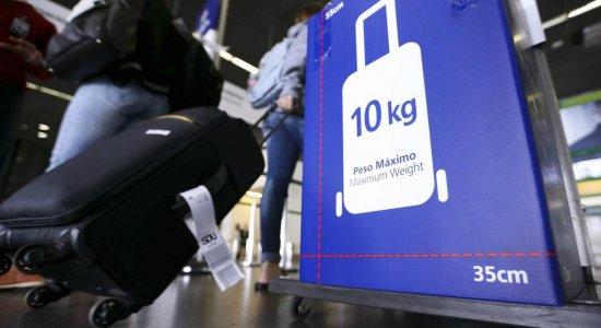 Aeroporto do Recife aumenta a fiscalização de bagagens de mão