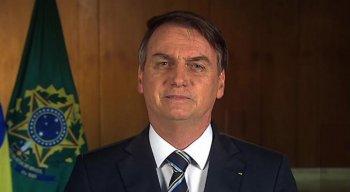 Bolsonaro se pronuncio em rede nacional na noite desta quarta-feira