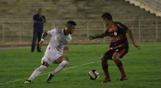 Náutico sofre virada do Campinense e larga atrás na seletiva da Copa do Nordeste