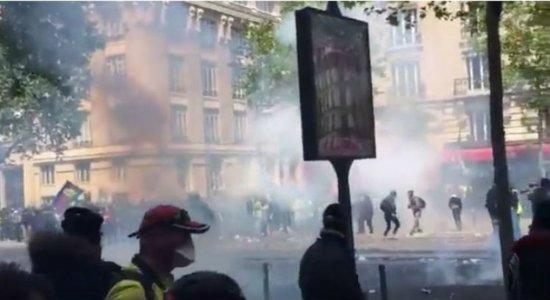 Protestos e 165 detenções marcam Dia do Trabalho na França