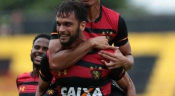Rafael Thyere se tornou capitão do Sport com a ausência de Sander