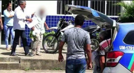 Idoso é flagrado estuprando menina de 4 anos e preso em Timbaúba