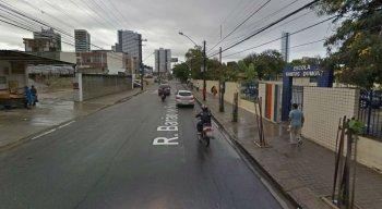 Segundo o áudio, o caso teria acontecido na Avenida Barão de Souza Leão, em Boa Viagem