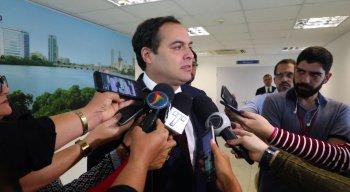 Durante reunião, Paulo ressaltou a queda da violência em Pernambuco