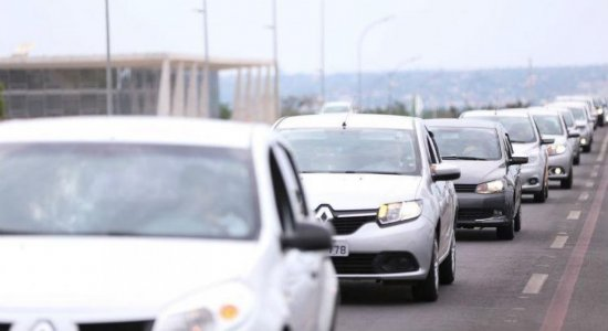 Paralisação dos motoristas de aplicativo acontece no Recife