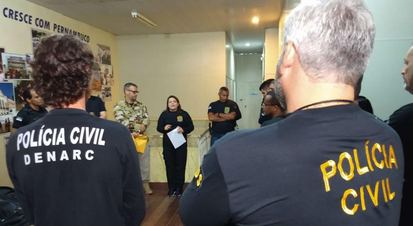 Operação da Polícia Civil mira tráfico e associação criminosa em PE