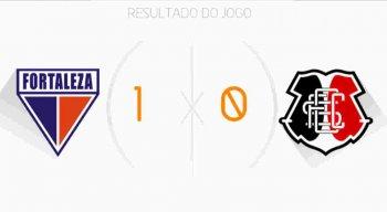 Fortaleza garantiu a vaga na final da Copa do Nordeste ao vencer o Santa Cruz por 1 a 0.