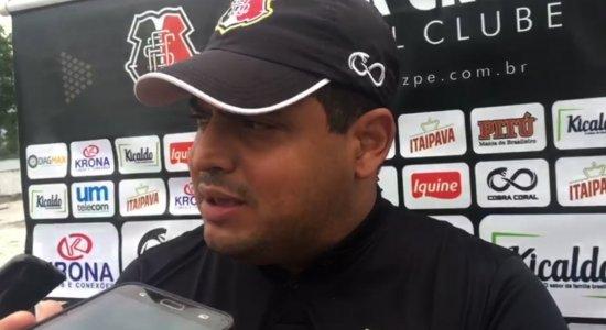 Técnico do Santa acredita no avanço para a final da Copa do Nordeste