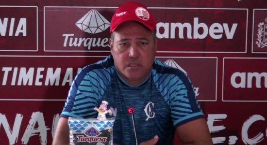 Márcio Goiano não é mais treinador do Náutico