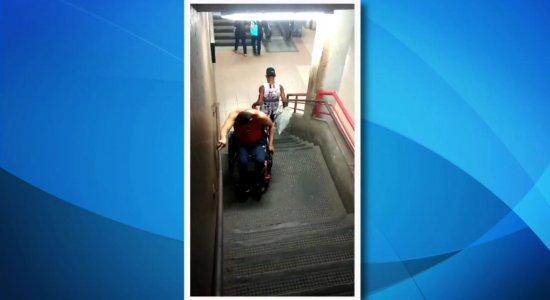 Metrô: escadas rolantes e elevadores quebrados prejudicam mobilidade
