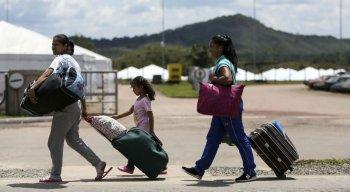 A Operação Acolhida registrou a entrada de 893 venezuelanos no Brasil