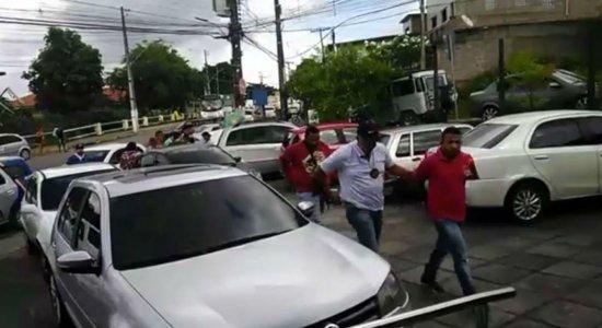 Dupla é presa suspeita de assalto a lotérica em Aldeia