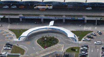 Aeroporto Internacional Afonso Pena, em Curitiba teve a 4ª colocação