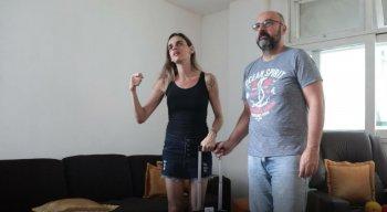 Tatiana Viard e José Augusto Rangel pedem explicações da Azul sobre mala extraviada