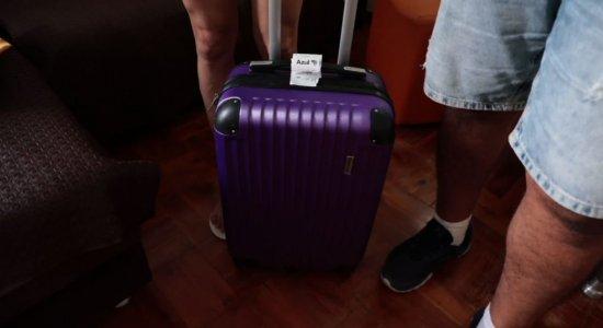 Suspeito de pegar mala de noiva diz que foi engano