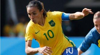 Marta lidera seleção na Copa do Mundo da França