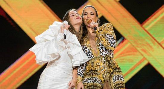 Ivete Sangalo e Claudia Leitte comandam festa no Classic Hall