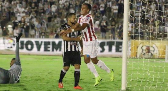 Matheus Carvalho comemora chance no Náutico e vibra com gol marcado