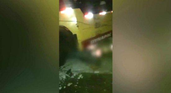 Moradores sofrem sem energia após acidente na Zona Norte do Recife