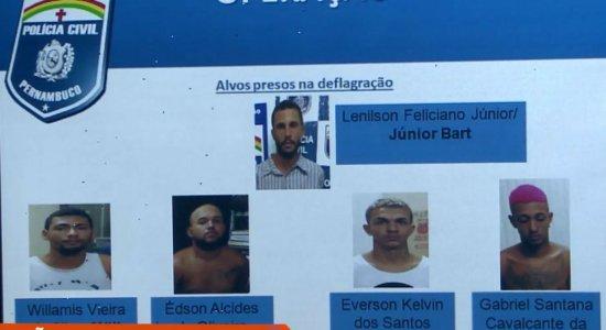 Polícia prende grupo que usava praça para traficar drogas na RMR