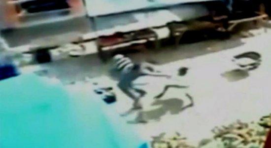 Vídeo mostra tentativa de homicídio em Vicência