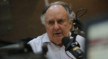 Ex-senador Cristovam Buarque participou do Debate desta quinta-feira