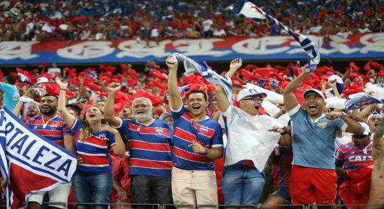 Fortaleza leva a melhor na primeira decisão da Copa do Nordeste